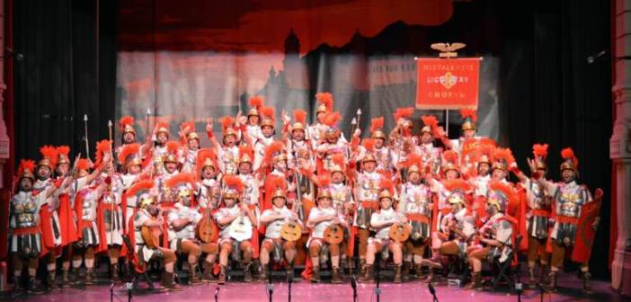 La Centuria abre la gran final del Carnaval Colombino