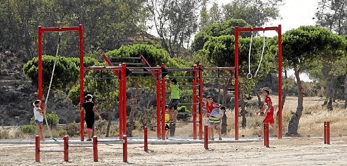 2018 02 01 El Parque 'El Camaleón' de Islantilla acoge este fin de semana el Taller de Calistenia del programa de Sábados Deportivos
