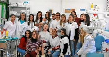 Alumnas del curso de enfermería