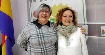 Monica Rossi y Silvia Zambrano.