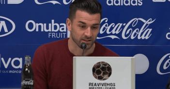 Natalio, nuevo jugador del Recreativo de Huelva.