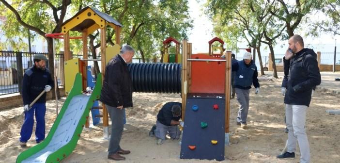 Remodelación del parque Almendral en Cartaya (1)