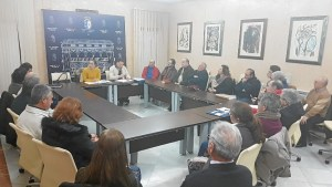 Reunión con hermandades del Rocío de Huelva 1