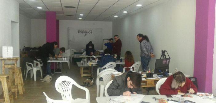 Nueva sede de Podemos.