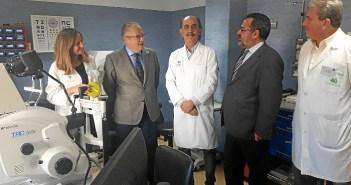 mejoras en oftalmología en el Infanta Elena