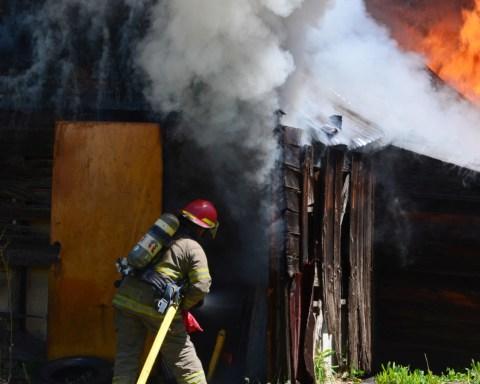 Fire in Walsenburg