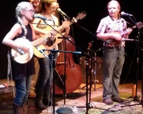 Maddy, Steve, Megan and Jackson make sweet harmony.  Photo by Cheyenne Kline