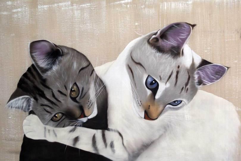 Th. Bischles chats de Claire