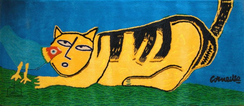 TAPIS_CHAT_JAUNE Guillaume_CORNEILLE