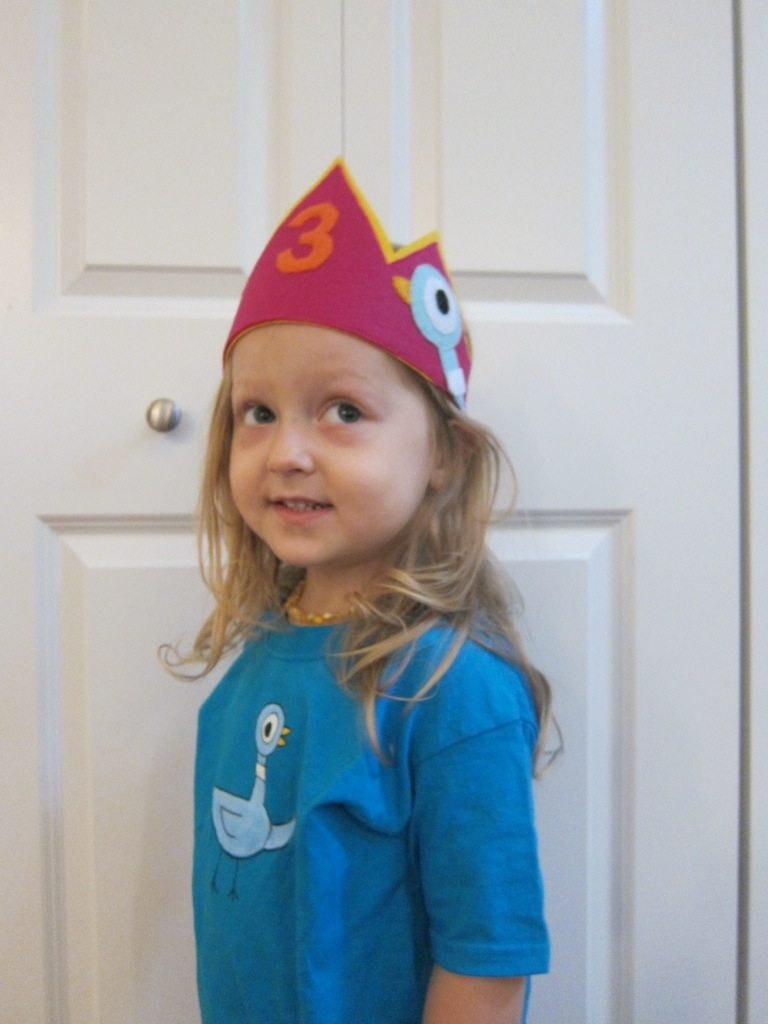 A Pigeon Party - Crown and Shirt by Hugs are Fun