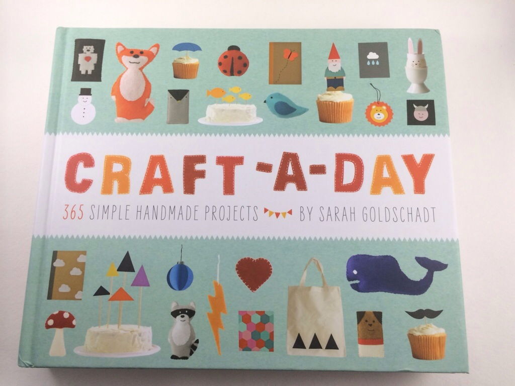 Craft-A-Day Book Review by Hugs are Fun