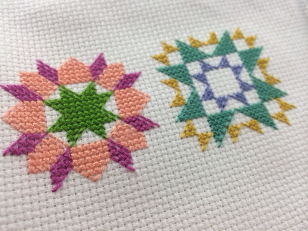 Quilty Stitches Sampler Along by Hugs are Fun