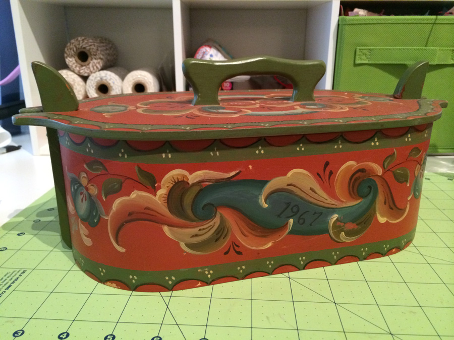 My Grandmother's Sewing Kit by Hugs are Fun