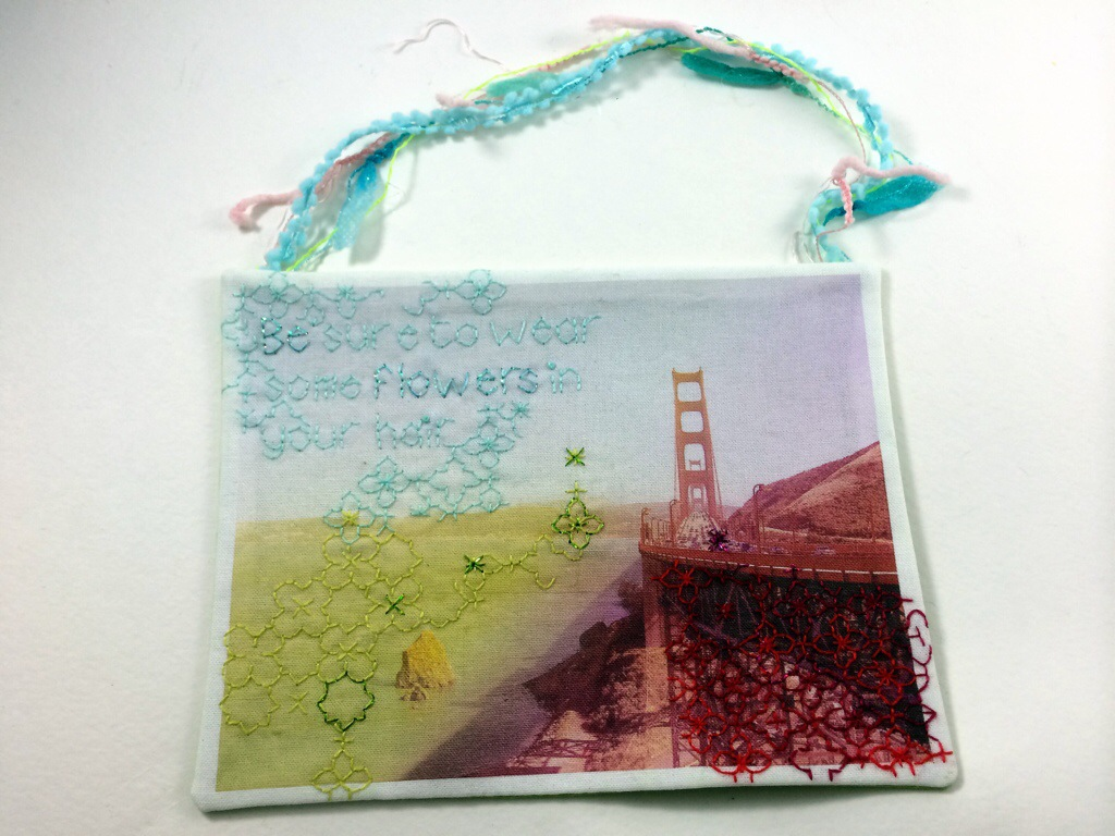 What I got in the &Stitches Swap by Hugs are Fun