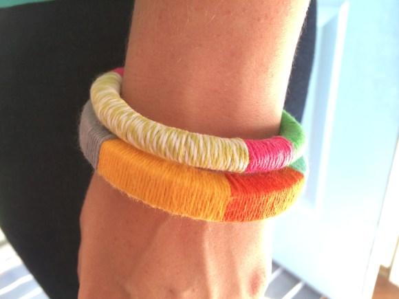 Color Block Bracelet from Hugs are Fun