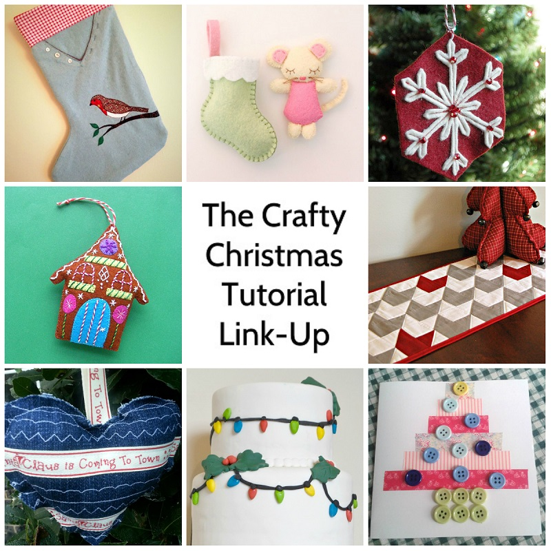 The 2014 Crafty Christmas Tutorial Link-Up B