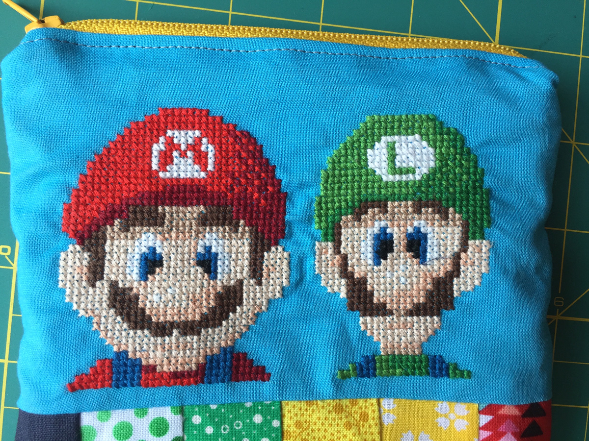 Free Pattern Friday - Mario and Luigi from Hugs are Fun