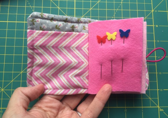 Pink Needlebook from Hugs are Fun