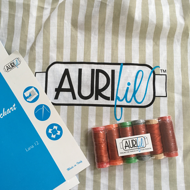 Inside Aurifil and Aurifil Inside from Hugs are Fun