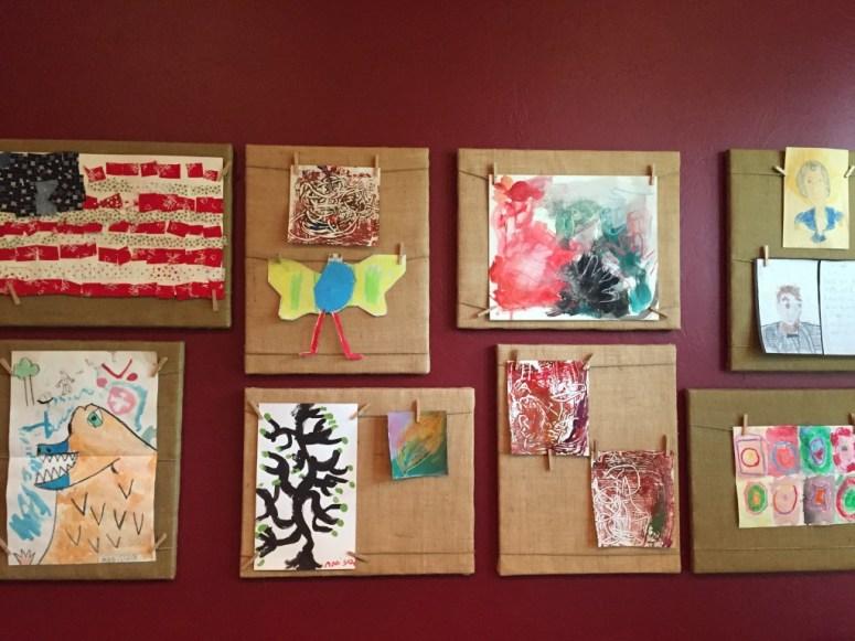 Art Display for Love Your Life Friday at KarenEhman.com
