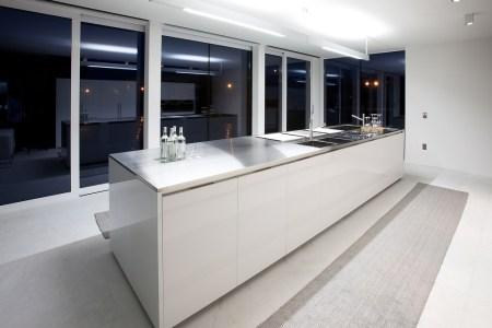 ultra modern white glossy kitchen island kitchen island design
