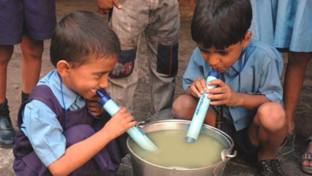 Lifestraw - La paille qui filtre 100% des bactéries et 99% des parasites