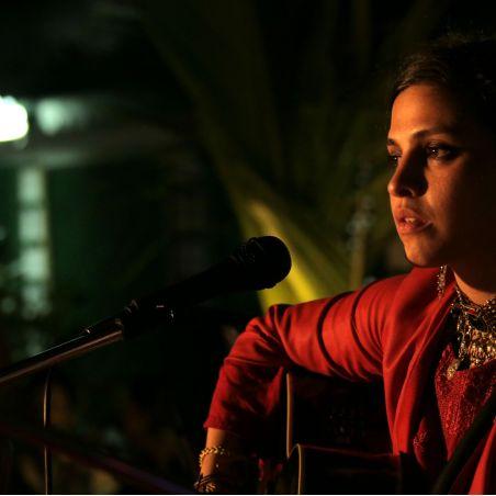 LFM 1.18- Ariana Delawari reps Afghanistan at the Mogadishu Music Festival. Photo by Jake Simkin.