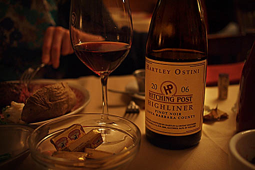 Hartley Ostini Hitching Post Highliner 2006 Sideways Pinot Noir