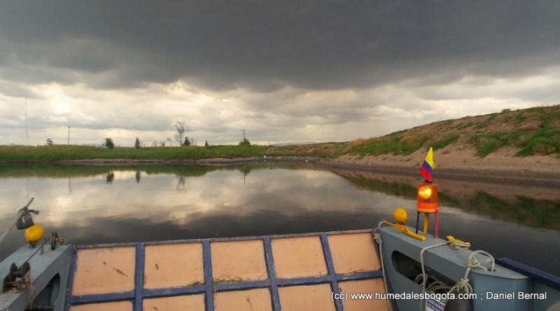 Navegando el Río Bogotá