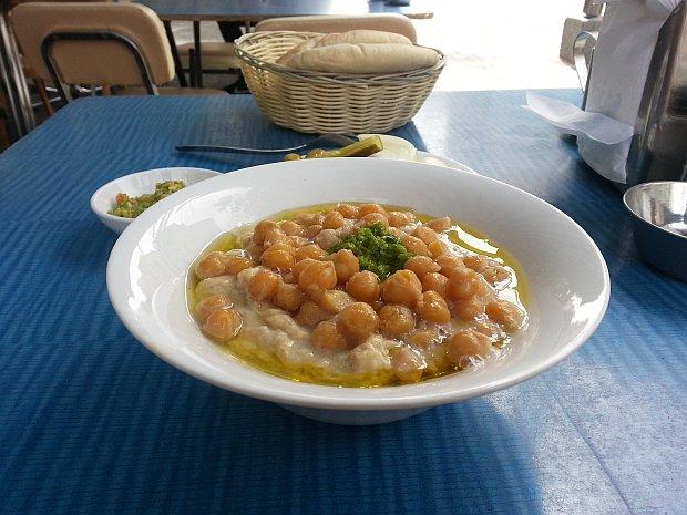 Meshawsha-hummus-plate