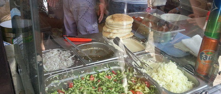 פלאפל מתנה, שוק הכרמל תל-אביב