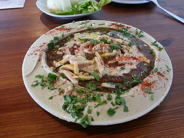 SyrianHummus2-plate