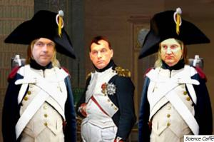 Orban as Napoleon