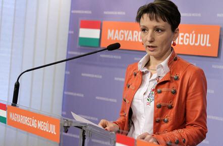 There is no question, Mrs. Czunyi, née Judit Bertalan is a faithful Fidesz loyalist