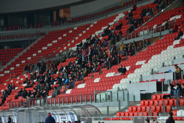 An NB1 game at the Debrecen stadium