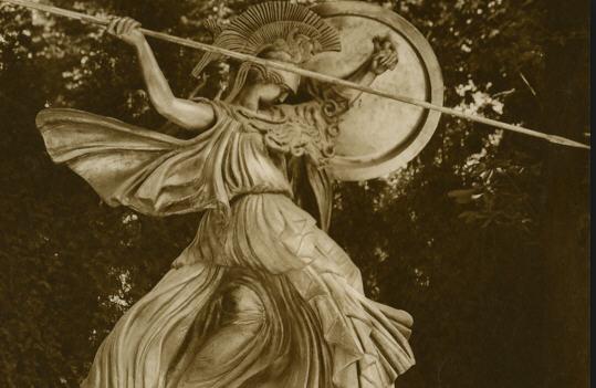 Pallas Athena by Charles-Marie Sarrabezolles