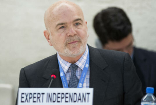 Michel Forst, rapporteur on the situation of human rights defenders