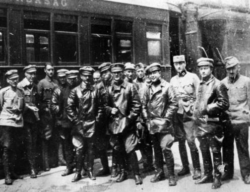 A group of Lenin boys