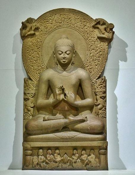 Buddha stature from Sarnath / 4th century