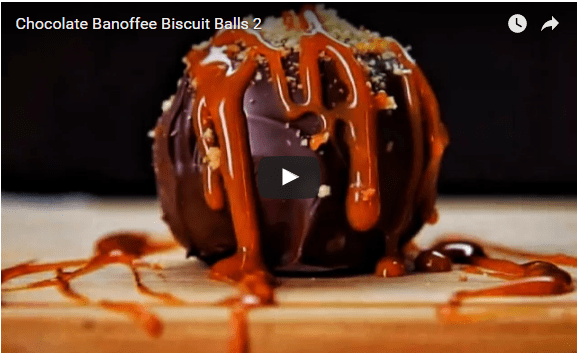 Chocolate Banoffee Biscuit Balls By TastyRecipies ~ A Blast For Your Upcoming Bash!