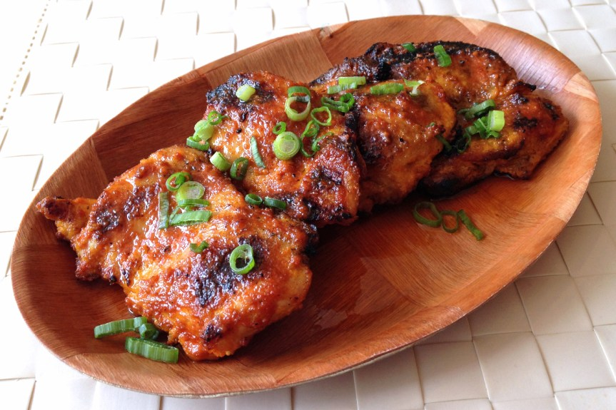 Grilled Chicken Inasal.