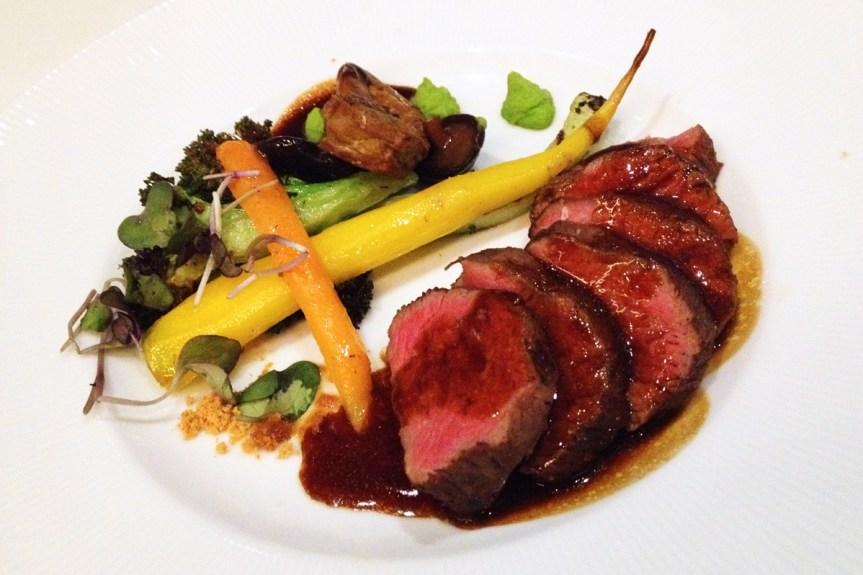 Petite Beef Tenderloin & Seared Miso Foie Gras