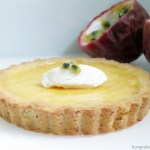 passion fruit cream tart