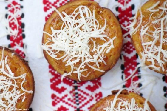 Honey Jalapeño Cheese Corn Muffins
