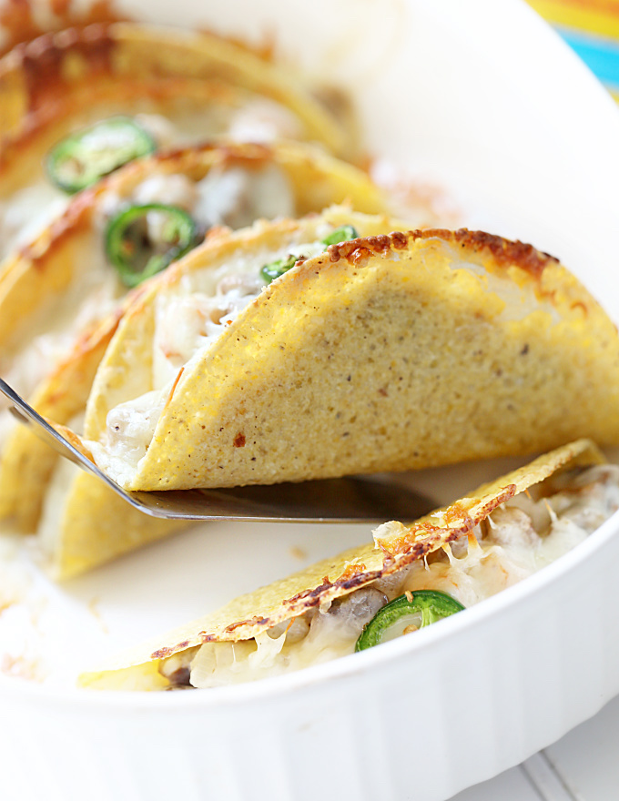Seafood Casserole Baked Tacos