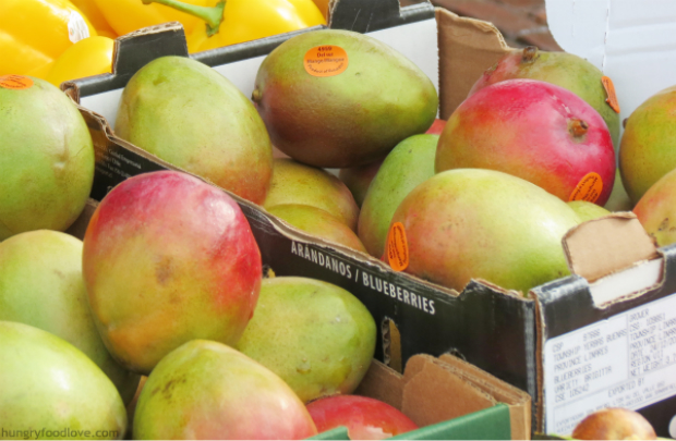 mango cucumber juice by www.hungryfoodlove.com