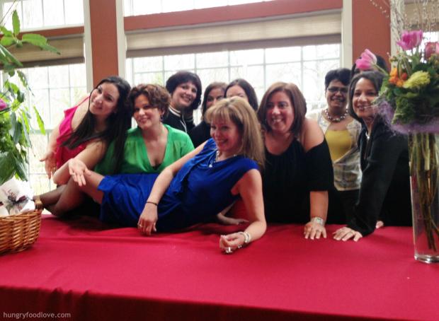 Latinas Unidas Board of Directors with Chef Daisy Martinez