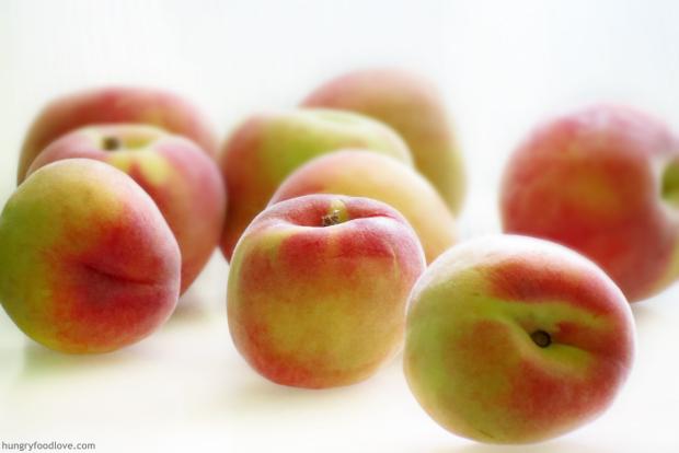 Peach Flan
