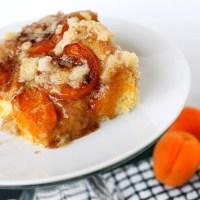 Slovak Apricot Cake
