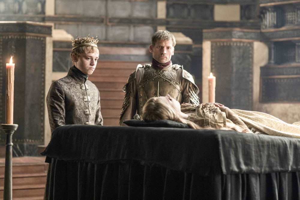 Tommen Baratheon and Jaime Lannister Season 6